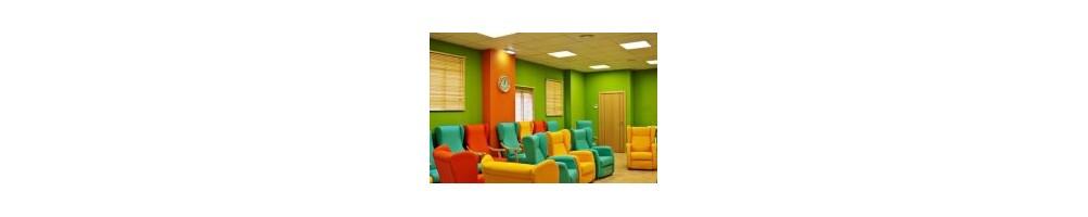 Sillones y sillas para residencias y geriatricos